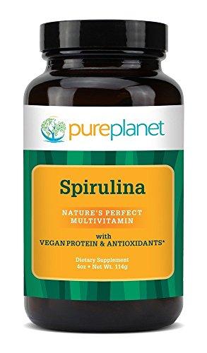 Pure Planet Premium Spirulina Powder - 4 oz