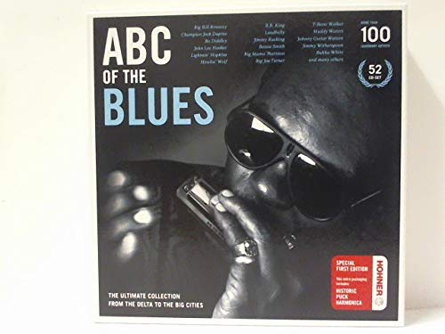 ABC of the Blues (52 CDs + Hohner Mundharmonika)
