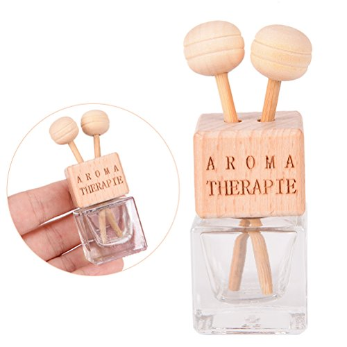 IYSHOUGONG 100 Pcs Car Air Vent Perfume Clip Bottle Refillable Car Air Freshener Perfume Diffuser Fragrance Bottle