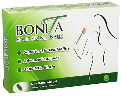 Essential Source Bonita Hair Skin and Nails - 30 Softgels -pack of 2
