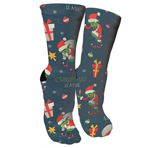 Damen Socken Dead The Nightmare Before Christmas (Sternennacht) Baumwolle Crazy Fun Athletic Crew Casual Kleid Socken -  Blau -  Einheitsgröße