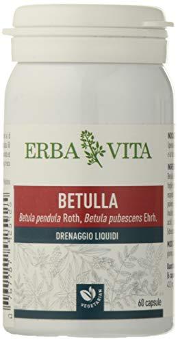 Erba Vita Integratore Alimentare di Betulla - 60 Capsule