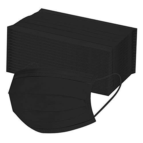 50 x Mundschutz, Staubschutz – aus Vlies Geeignet für Menschen mit breiten Wangen (20.5 * 10.5cm, 50 Stück H)