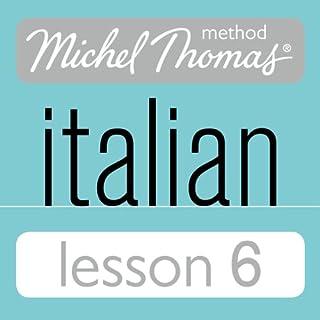 Michel Thomas Beginner Italian Lesson 6 cover art