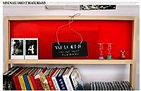 1個/ロットかわいい壁掛け黒板ロープ付きメッセージボード木製小型黒板クリエイティブ多機能