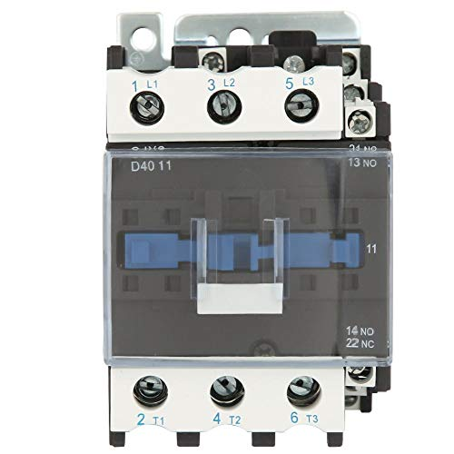 Contactor de CA, 380V 40A Cjx2-4011 Contactor de CA eléctrico industrial de...