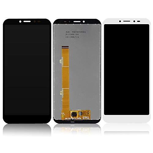 Pantalla LCD teléfono 5.5inch Fit For Alcatel 2019 1S 5024 OT5024 LCD + Touch Screen Panel reemplazo (Color : Black)