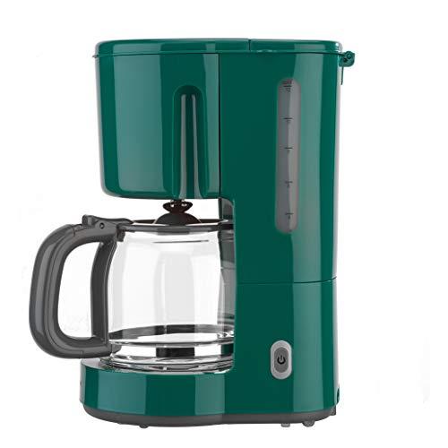 efbe-Schott SC KA 1080.1 GRN Kaffeeautomat 1,25 Liter mit Glaskanne, Metall, Glas, Kunststoff, 1.25 liters, Grün