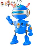 Inncen Kids Robot Toys for Boy, Mini Talking Robots with USB Charging,Repeat What You Say & Swing Flexible Body Dancing Robot Toys Interactive Educational Smart Partner Robotic Toys for Boys Girls