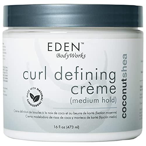 EDEN BodyWorks All Natural Coconut Shea Curl Defining Creme by EDEN Body Works 16oz by EDEN BodyWorks All Natural Coconut Shea Curl Defin