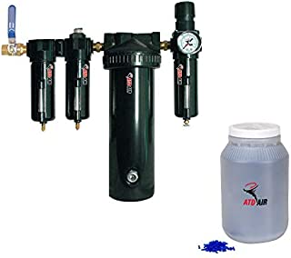 ATD Tools 7763 Large 30-SCFM Desiccant Air Drying System with 1/2