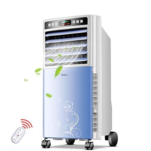 Enfriador de aire portátil con control remoto, 3 en 1 purificador del humectador, aire acondicionado y ventilador de refrigeración, 3 velocidades del ventilador, 15 horas temporizador, for el hogar, d