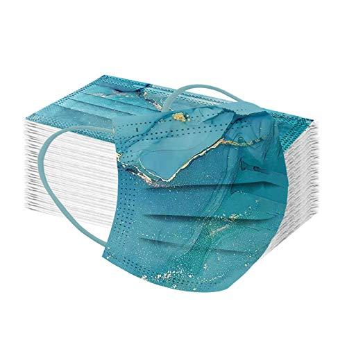 FFQY Erwachsene Mundschutz Waschbar Wiederverwendbar Baumwolle Atmungsaktive Staubdicht Mund und Nasenschutz Halstuch für Jungen und Mädchen