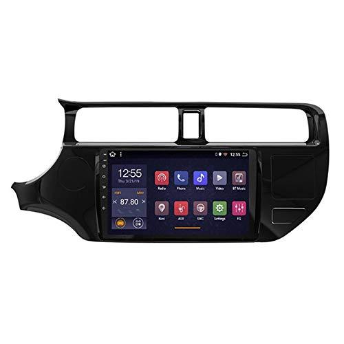 Android 8.1 sistema stereo dell'automobile da 9 pollici navigazione di GPS per Kia Rio Radio 2012-2016 stereo con controllo del volante del USB di navigazione WiFi Bluetooth,2012-2014