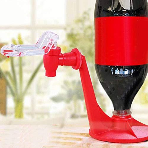 Learnarmy Getränkespender Mit Zapfhahn, Cola Wasserspender Tragbarer Saftspender Dispenser Trinkwasserspender Party Bar Küchenhelfer