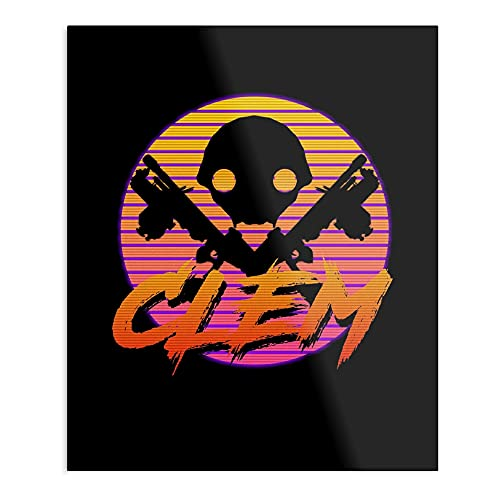 valungtung Ninja Retro Gaming Space Clem Frame War Print Modern Typographic Poster Girl Boss Office Decor Motivational Poster Dorm Room Wall