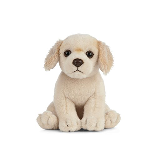 Living Nature Soft Toy - knuffeldier Golden Retriever puppy (16cm)