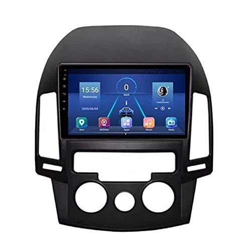 WY-CAR Android 8.1 Radio De Automóvil Unidad De Cabeza Estéreo para Hyundai I30 2006-2011, Navegación GPS De 9 Pulgadas IPS GPS, FM/Bluetooth/SWC/Enlace DE Espejo/Cámara De Vista Trasera