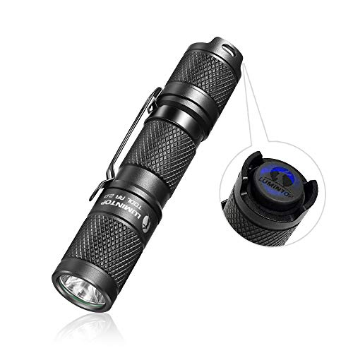 LUMINTOP Tool AA 2.0 懐中電灯 led 懐中電灯 懐中電灯 LED フラッシュライト 明るさ650ルーメン 連続点灯6...