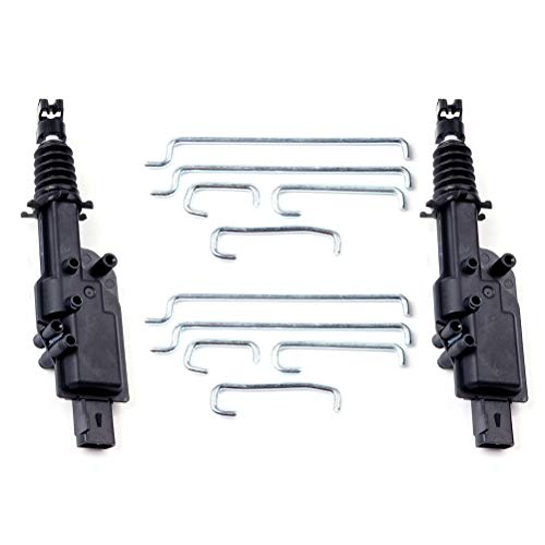 Power Door Lock Actuator Kit Door Lock Actuators Front and Rear Fits for 1999-2000 ford E-350 Super Duty 1997-2002 ford Expedition 1994-1997 ford F-350 1998-2002 Lincoln Navigator Replaces 746-159