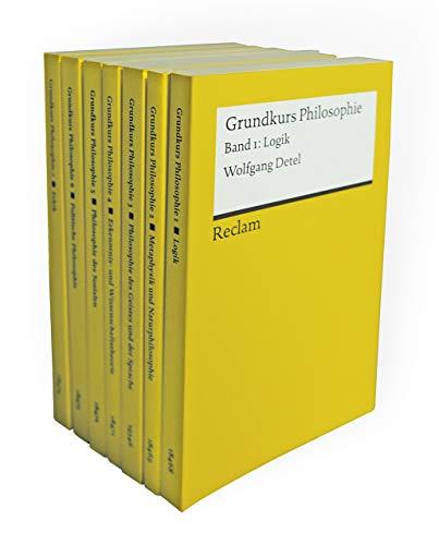 Grundkurs Philosophie: Sieben Bände eingeschweißt (Reclams Universal-Bibliothek)