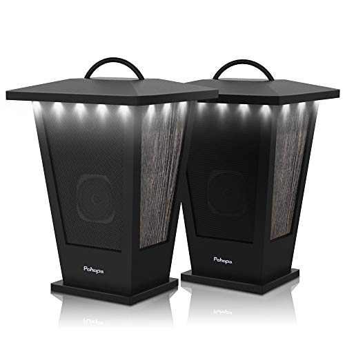 Pohopa Wireless Stereo Sound 20W Outdoor Speakers