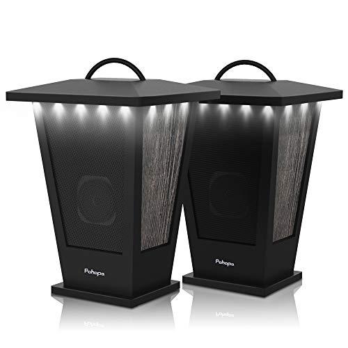 Bluetooth Speakers Waterproof, Pohopa 2 Packs True Wireless Stereo Sound 20W Speakers...