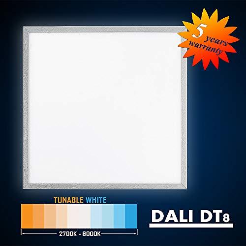 Mextronic LED Aufbau Panel LED Aufputz Panel 62x62 50W (S) TUNABLE WHITE (2700-6000K) DALI DT8
