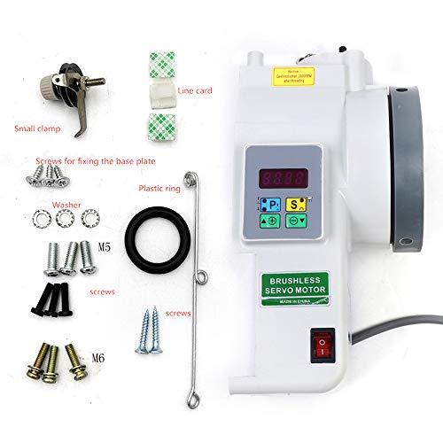 OUKANING Industria Servomotor - Máquina de coser (750 W)