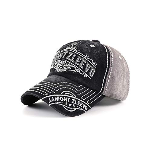 Hut Damen Sonnenschirm und Anti-Sack Hut Stickerei Baseballkappe Herren Reine Baumwolle Outdoor Freizeit gewaschen und getragene Kappe