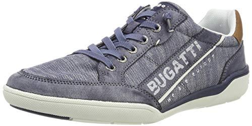 bugatti Herren 321465095000 Sneaker, Blau, 44 EU