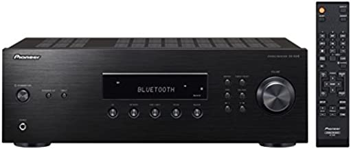 Pioneer SX-10AE Home Audio Stereo Receiver with Bluetooth Wireless Technology - Black