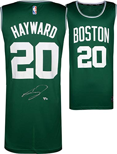Gordon Hayward Boston Celtics Autographed Fanatics Green Fastbreak Jersey - Autographed NBA Jerseys