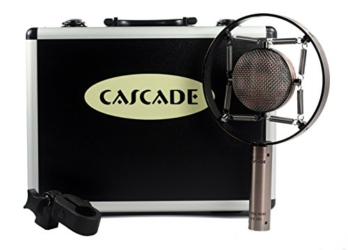 Cascade Microphones Knuckle Head Classic Short Ribbon Microphone, Copper