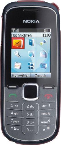 Nokia 1662 Handy (4,5 cm (1,8 Zoll) Bildschirm, FM-Radio) blau