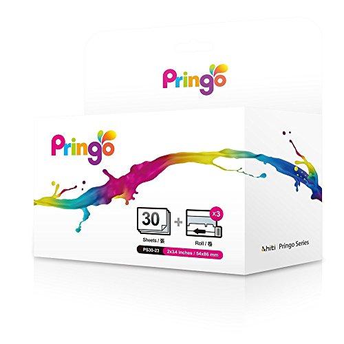 Hiti Silberfolien-Papier-Set für Pringo-Drucker (30 Drucke)
