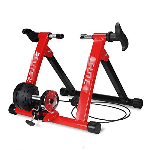 Indoor Bike Turbo Trainer soporte magnético Ciclismo, Heavy Duty Estable bicicleta estacionaria Riding Apoyos stands 350 libras de lanzamiento de bicicletas Trainer Con Quick, Profesional Druable Turb