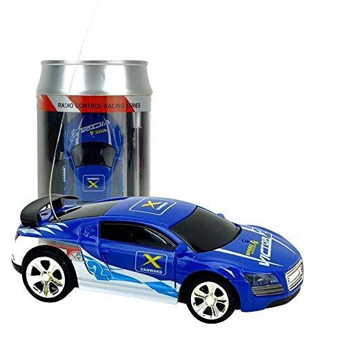 LIUCHANG Modelo de Coche 1:58 10 Colores Coca-Cola Puede Mini RC Drift Off-Road de Carreras de Radio Control Remoto Coche de competición Micro 4 Frecuencias de cumpleaños Que compite for