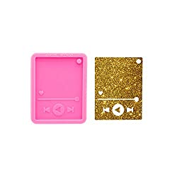 Super Shiny Music Player Silicone Mold for Keychains Epoxy Resin Craft Molds DIY Handmade Charms Mould,Keychain Mold,Jewelry Mold