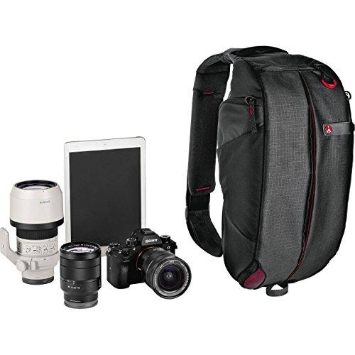 Manfrotto Pro Light FastTrack-8 PL, Zaino Fotografico Monospalla Professionale per DSLR, Reflex, Premium CSC, con Tracolla per Fotocamera Integrata, per Fotografi, Videomaker