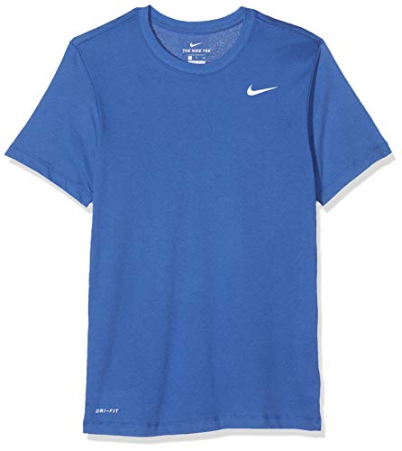 Nike M NK Dry tee DFC Crew Solid T Shirt, Hombre, Game RoyalWhite, S