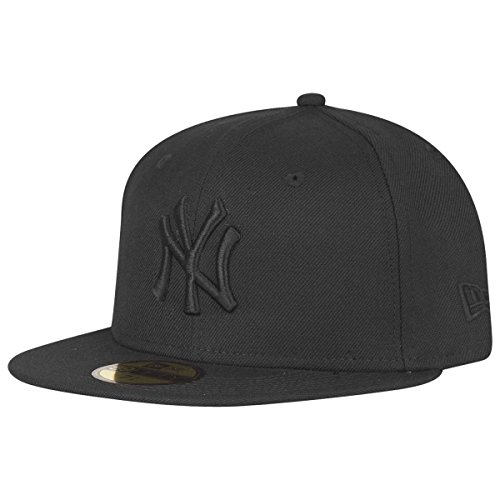New Era 59Fifty Fitted Cap - New York Yankees schwarz 7 5/8