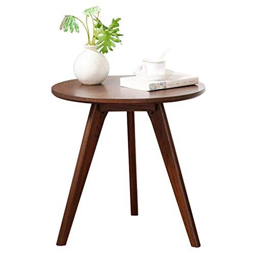 GRPBZ Mobili semplici - Tavolino in Legno Tavolo Rotondo Laterale da Tavolo Soggiorno Sofà Tavolo da Tavolo Lato Tavolo da caffè/Commodity Codice: LJW-76