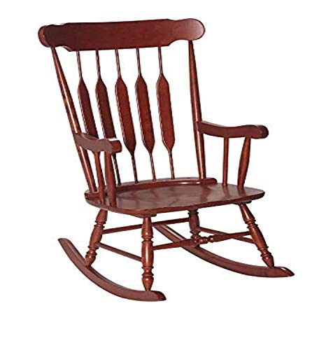 Gift Mark Giftmark Adult Rocking Chair-Cherry