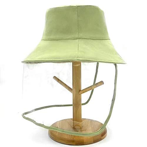 Voyage Cap, Chapeau De Pêcheur Anti-Mousse, Protection Solaire D'été Enfants Mignon Bébé Chapeau De Soleil, Les Filles (Color : Green)
