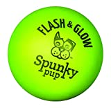 Spunky Pup Flash & Glow Ball Assorted Colors, 2.75 inches