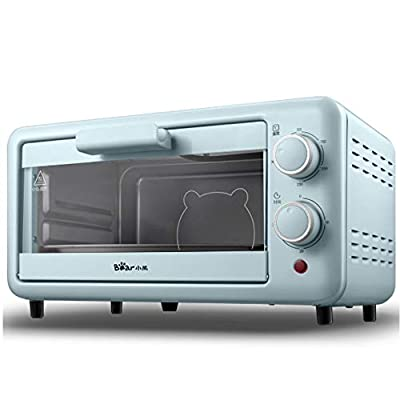 The Toaster |Steam Oven Toaster |12 Cooking Modes -Multi-function Stainless Steel Finish with Timer -Toast -Bake -Broil Settings,Includes Baking Pan and Rack,Toaster Oven,Countertop Oven (Sky Blue?11L)