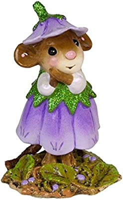 March Flower Mouse Of The Month M-640c Wee Forest Folk