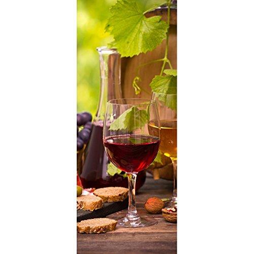 Textil-Banner mit Rotwein und Weißwein im Glas (Displaybanner) 100{deaf1f9e2d3ed2f739e507f8150cd9c340f65a3f38cbad1a21d130747e9d0f36} Polyester Motivbanner