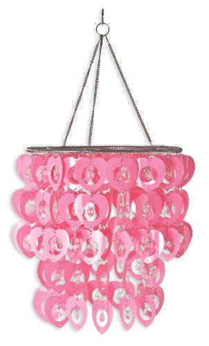 Wall Pops WPC96861 Ready-to-Hang Bling Chandelier, Cupid